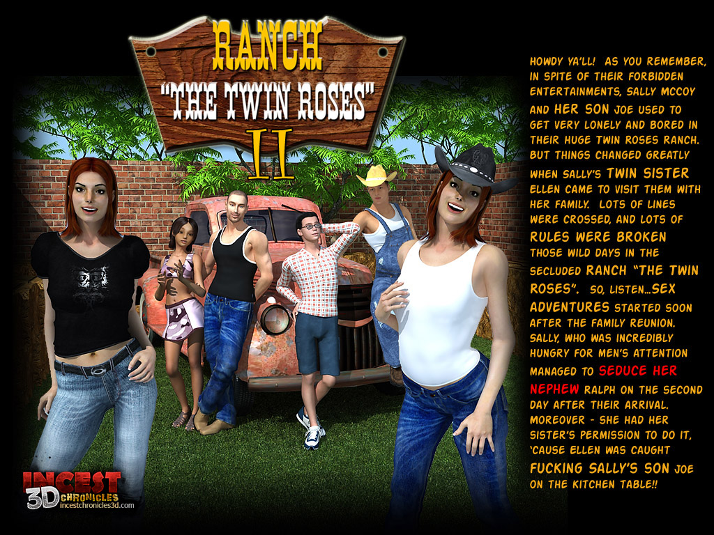 Incest3DChronicles- Ranch The Twin Roses. Part 2 porn comics 8 muses
