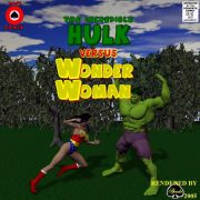 Incredible Hulk VS Wonder Woman porn comics 8 muses