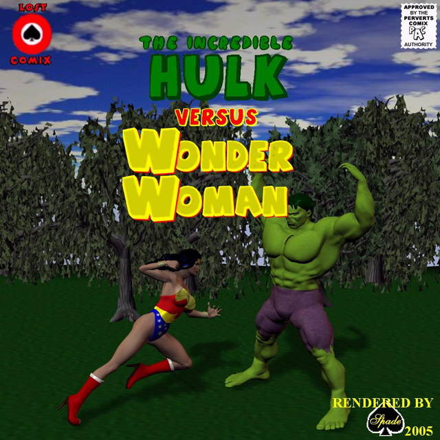 Incredible Hulk VS Wonder Woman image 1