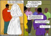 Her Wedding Day- Interracial porn comics 8 muses