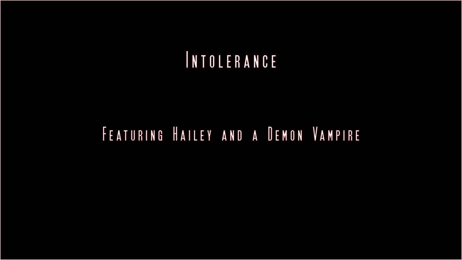 Intolerance- Demon Vampire – 3DZen porn comics 8 muses