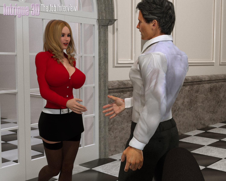 The Job Interview- Intrigue 3D porn comics 8 muses