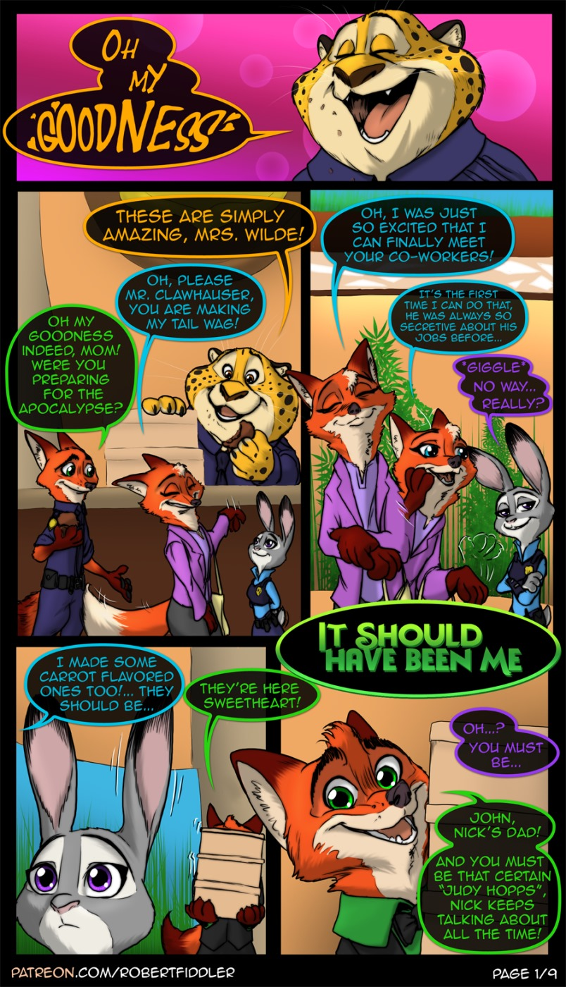 It Should Have Been Me (Zootopia) porn comics 8 muses
