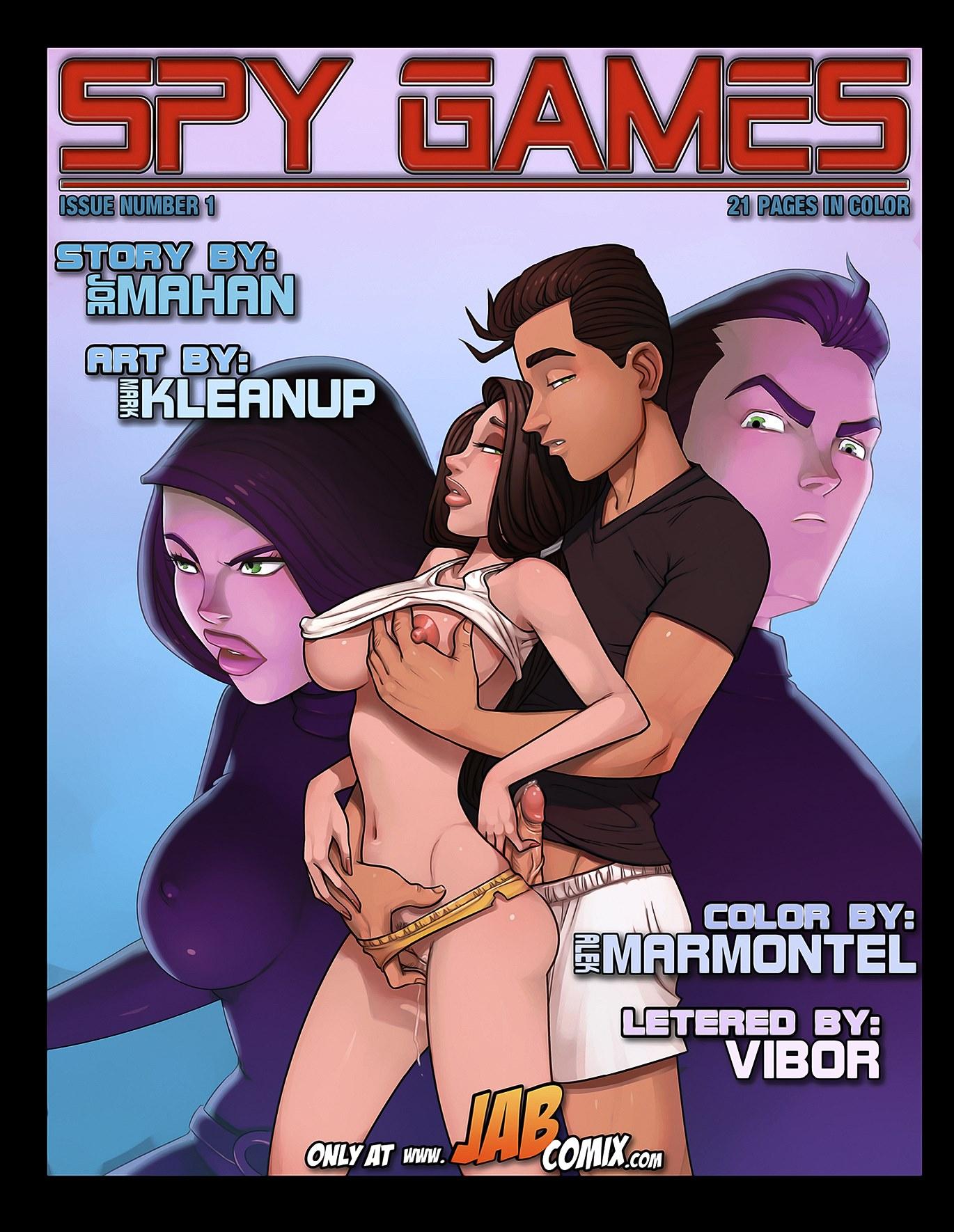 Jab Comix- Spy Games porn comics 8 muses