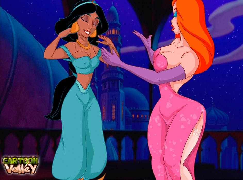 Jessica & Jasmine Lesbo- CartoonValley porn comics 8 muses