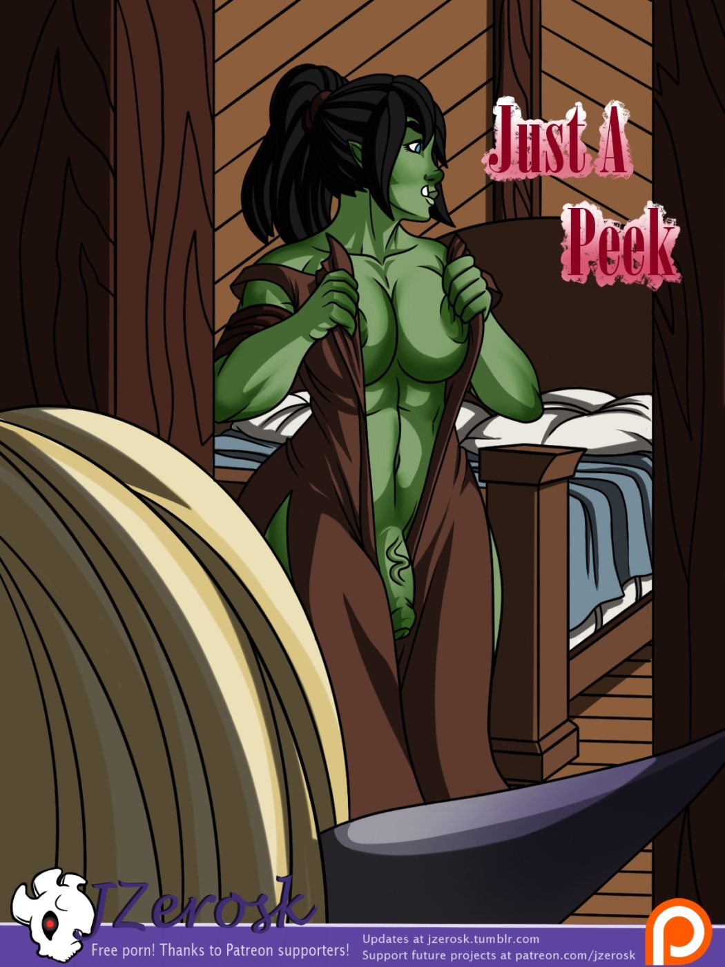 Just A Peek (JZerosk) porn comics 8 muses
