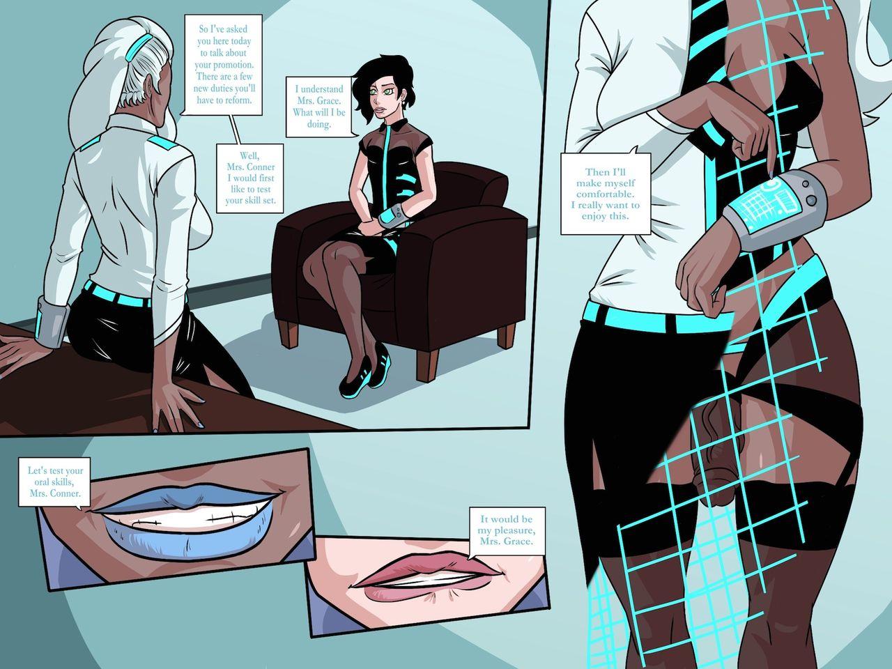 Office Romance (JZerosk) porn comics 8 muses