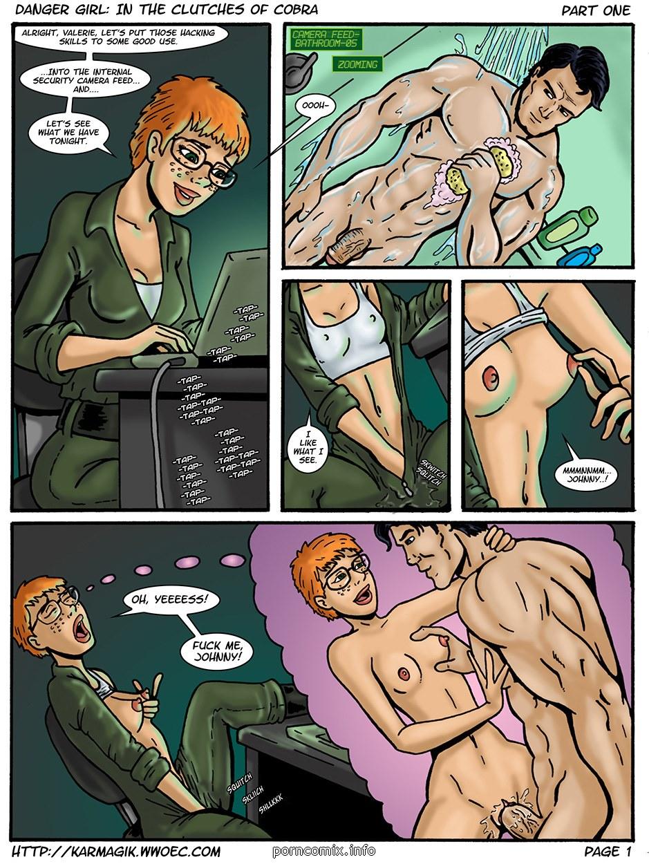 Karmagik – Danger Girl In the Clutches of Cobra image 1