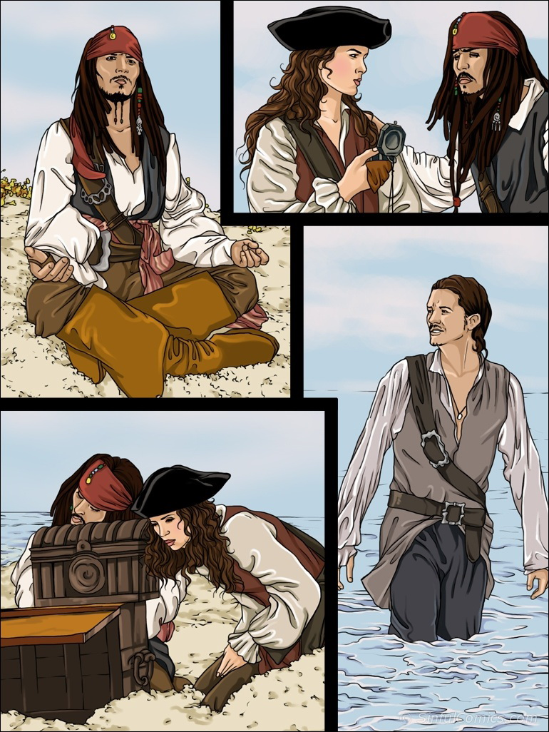 Keira Knightley Pirates- Sinful porn comics 8 muses
