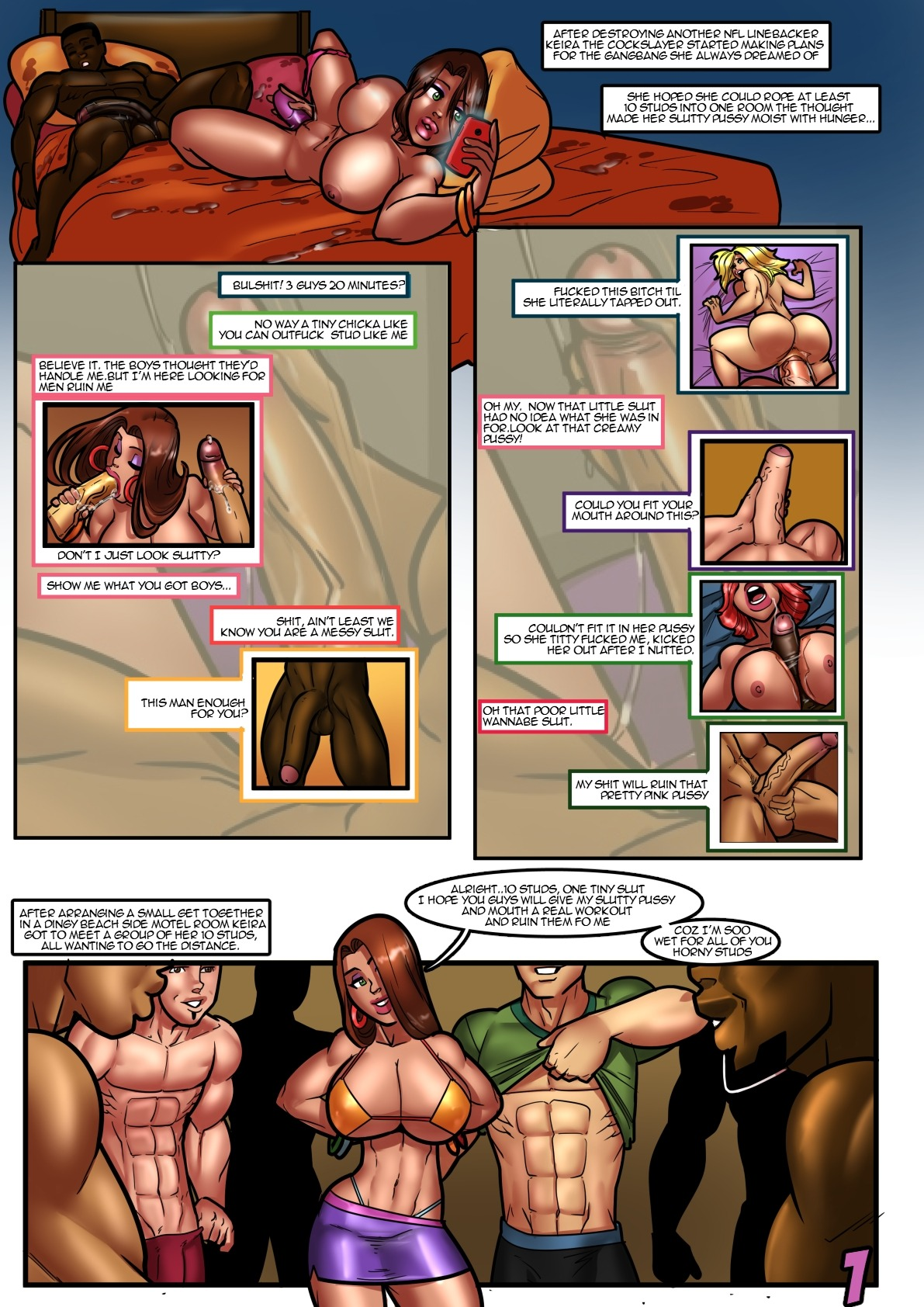Keira the CockSlayer- Rabies porn comics 8 muses
