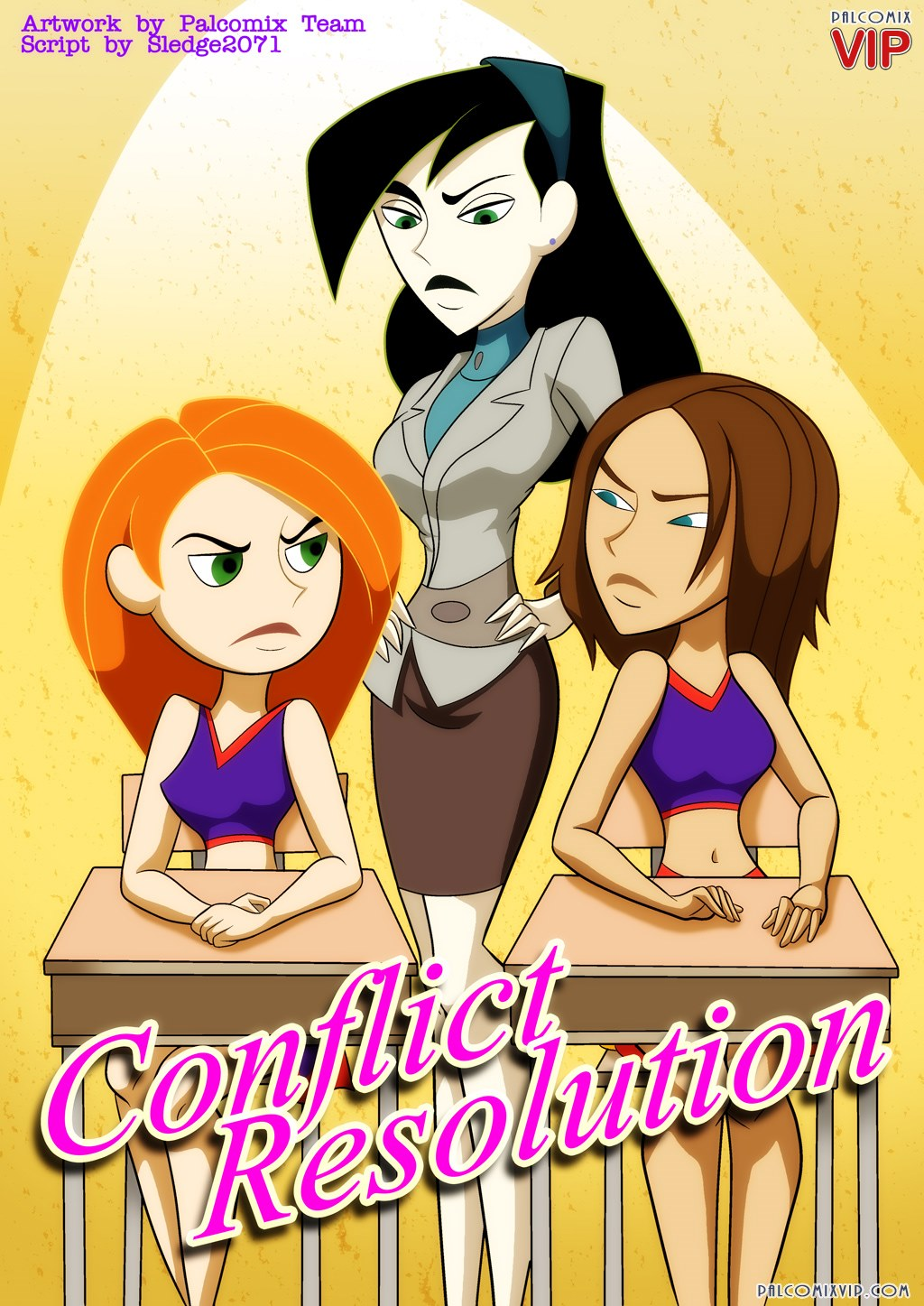 Conflict Resolution- Pal Comix porn comics 8 muses