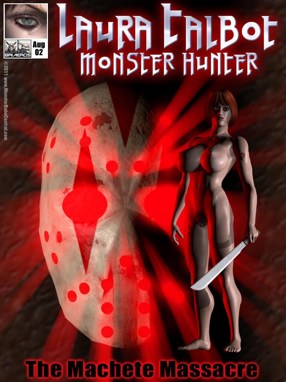 Laura Talbot Monster Hunter – Issue 2 porn comics 8 muses