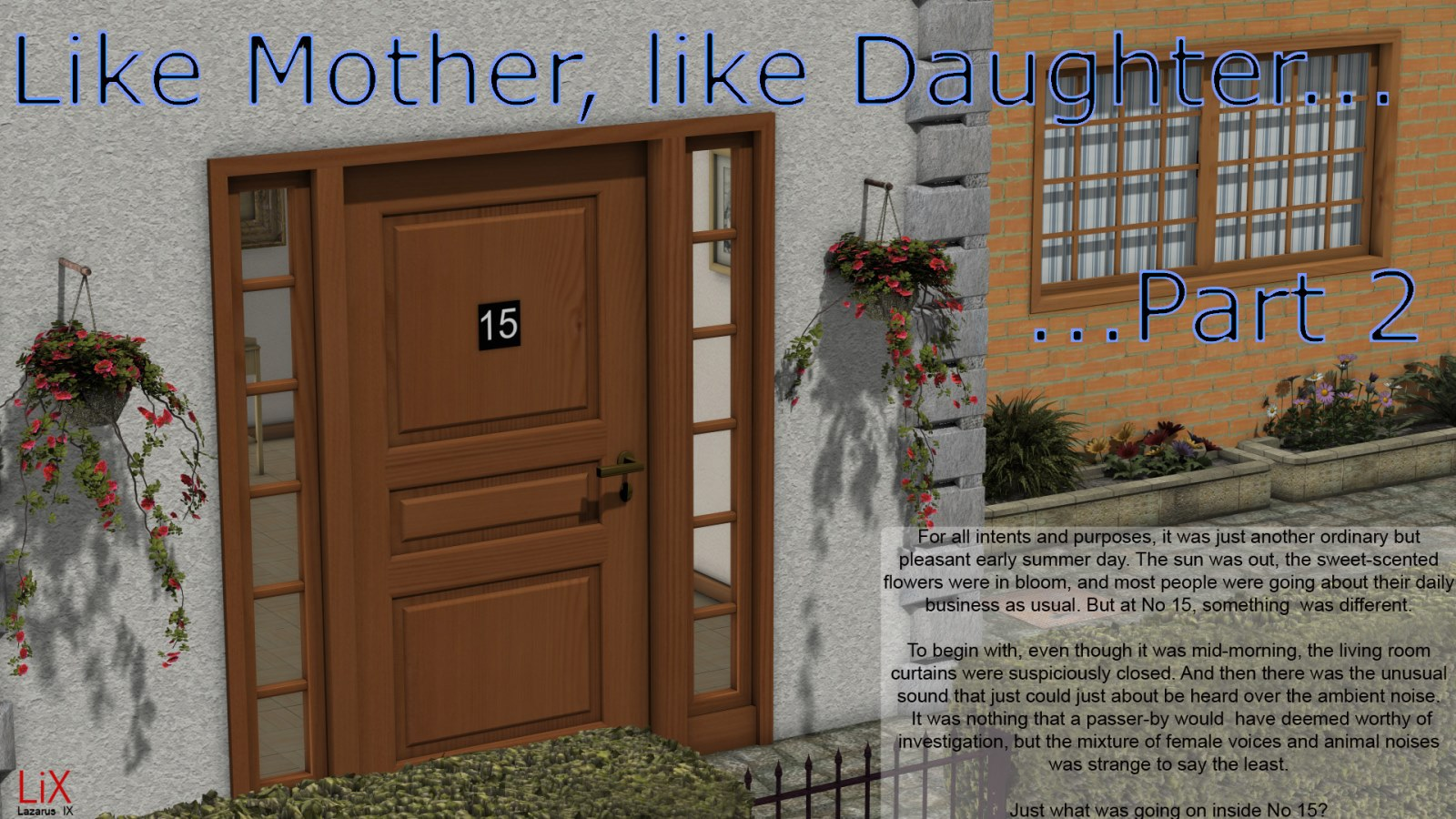 Lazarus IX- Like Mother, Like Daughter Part 2 image 1