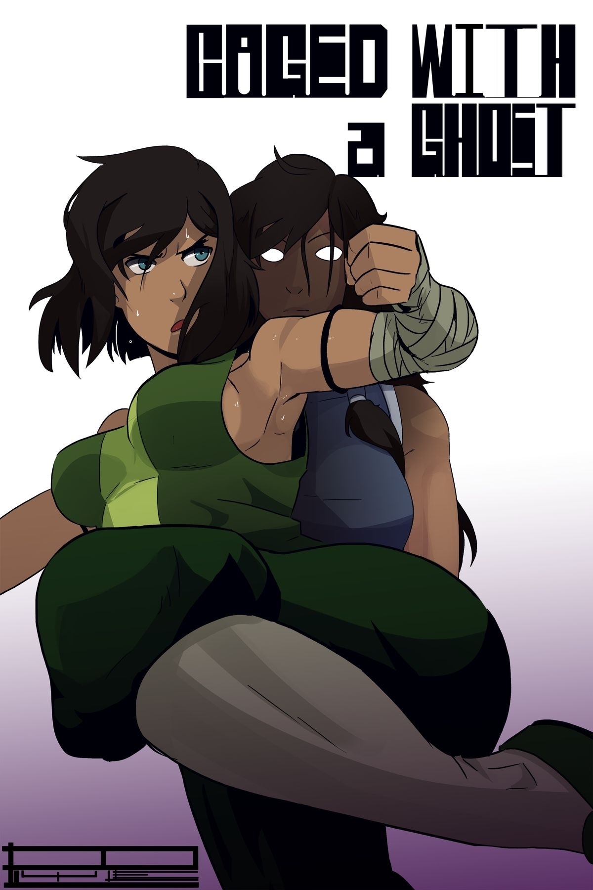 Legend of Korra- Caged With A Ghost image 1