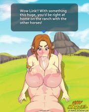 Legend of Zelda POV- Jay Marvel porn comics 8 muses