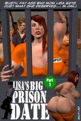Lisas Big Prison Date porn comics 8 muses