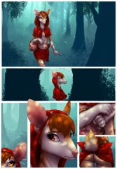 Little Red Riding Deer- Celeste porn comics 8 muses