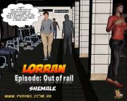 Lorran- Out of rail,Pig king porn comics 8 muses