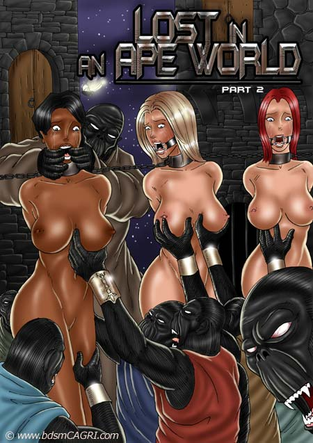 Lost in Apes World 2- bdsmCAGRI porn comics 8 muses