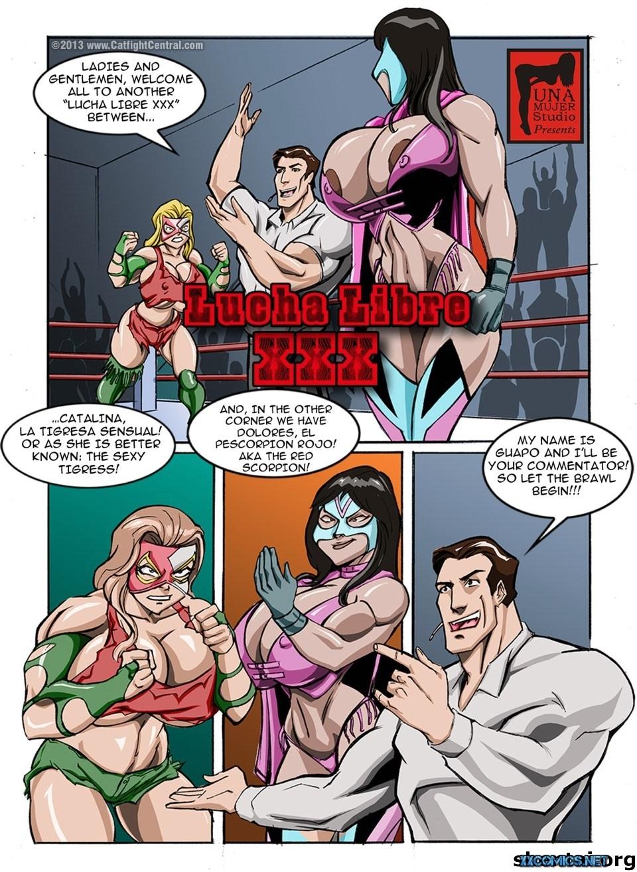 Lucha Libre XXX Part 1 & 3 porn comics 8 muses