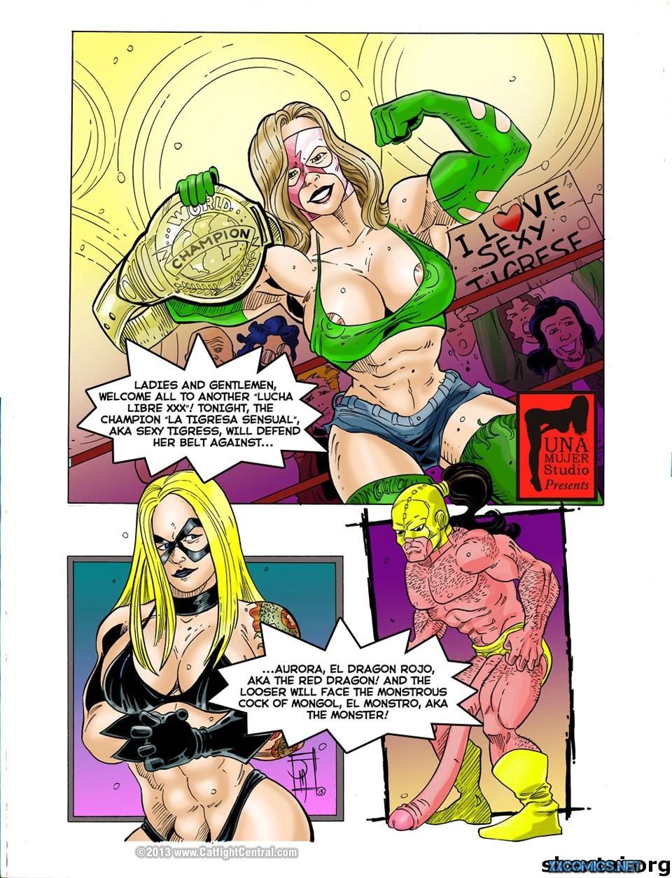 Lucha Libre XXX Part-8 & 9 porn comics 8 muses