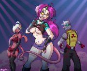 Lustful Dance- Sexyfur porn comics 8 muses