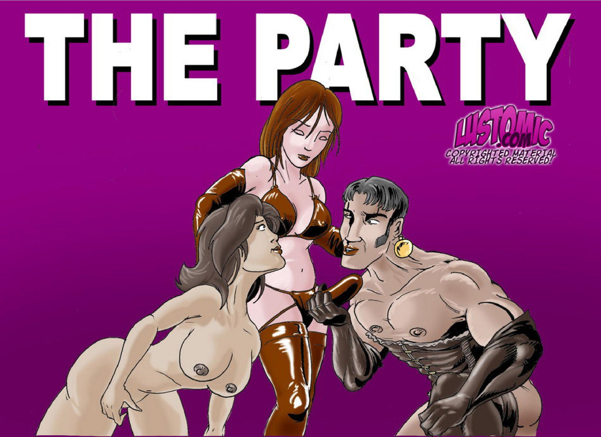 The Party porn comics 8 muses
