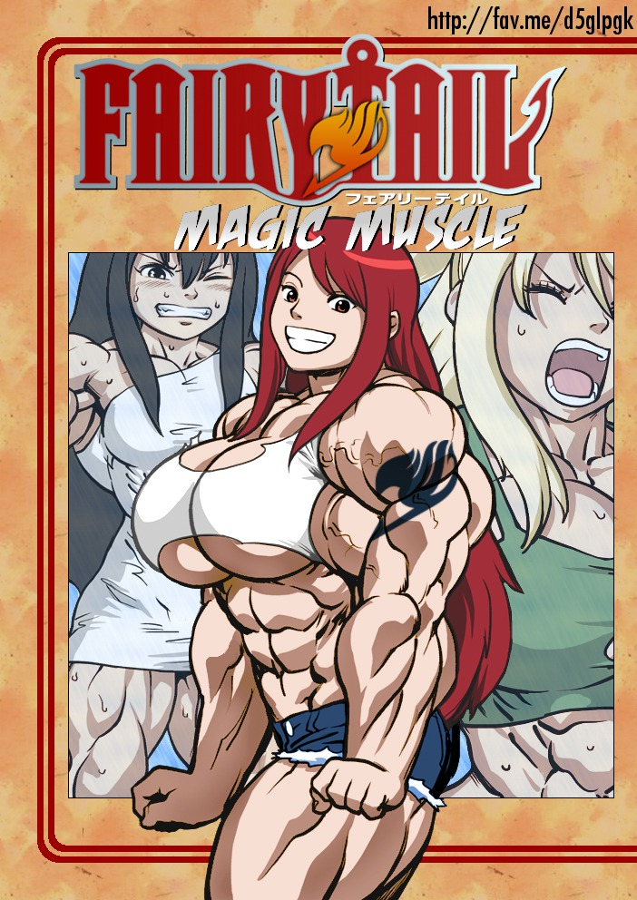 Magic Muscle (Fairy Tail) porn comics 8 muses