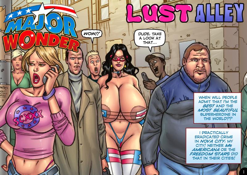 Major Wonder- Lust Alley – Superheroine image 1