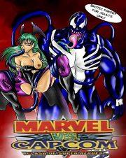 Marvel VS. Capcom- Clash of Super Heroes porn comics 8 muses
