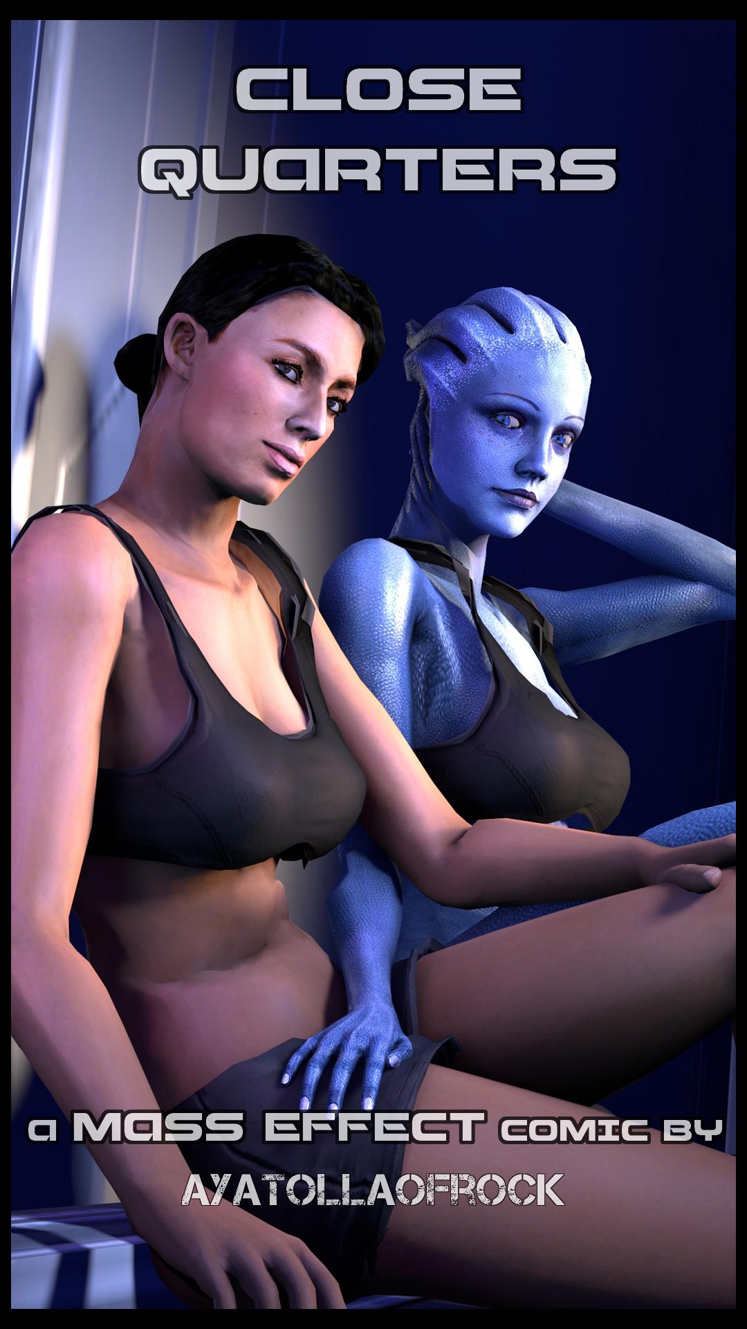 Mass Effect- Close Quarters porn comics 8 muses