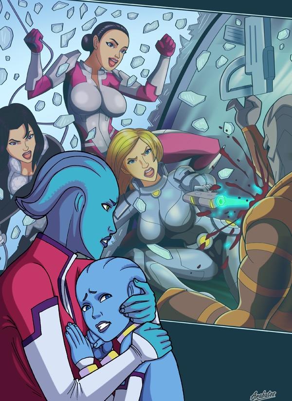 Mass Effect- Fucking Attack [Arabatos] porn comics 8 muses