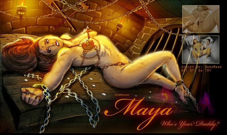 Maya 3 porn comics 8 muses