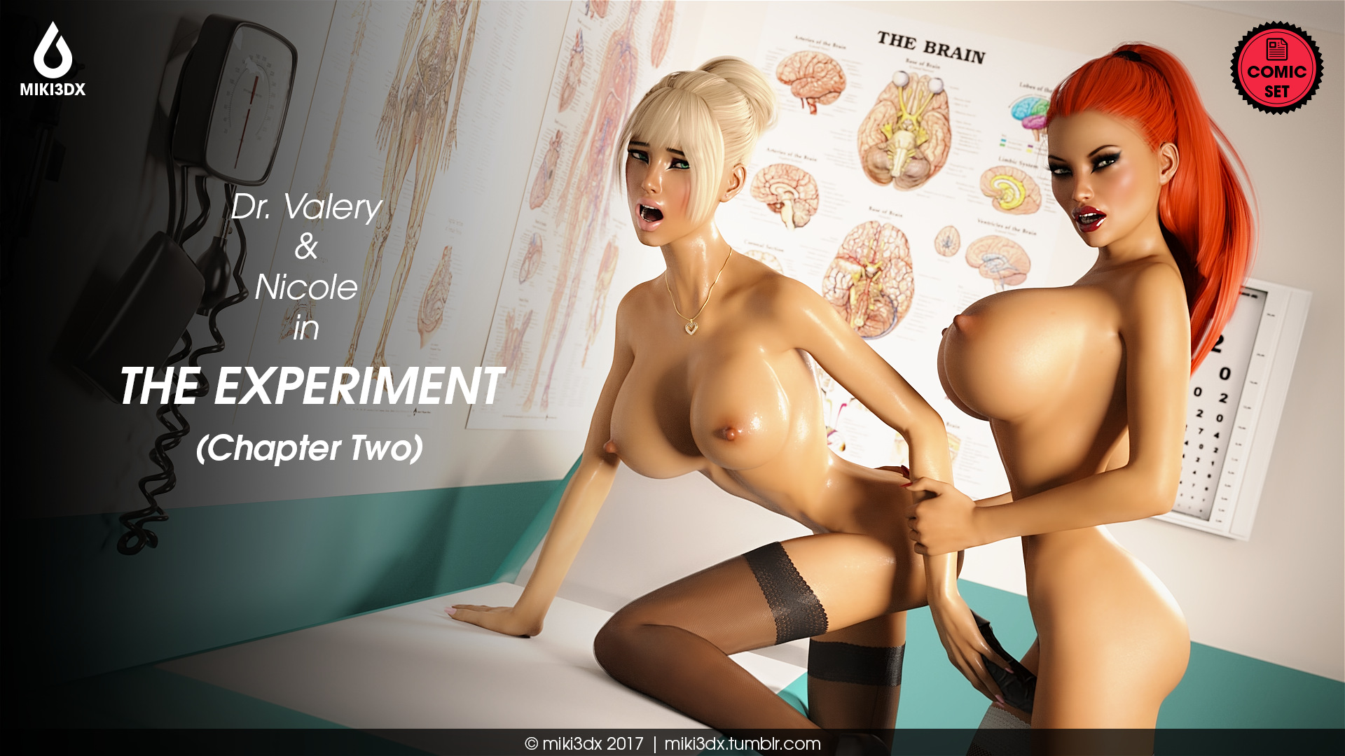 Miki3DX – The Experiment Chapter Two porn comics 8 muses