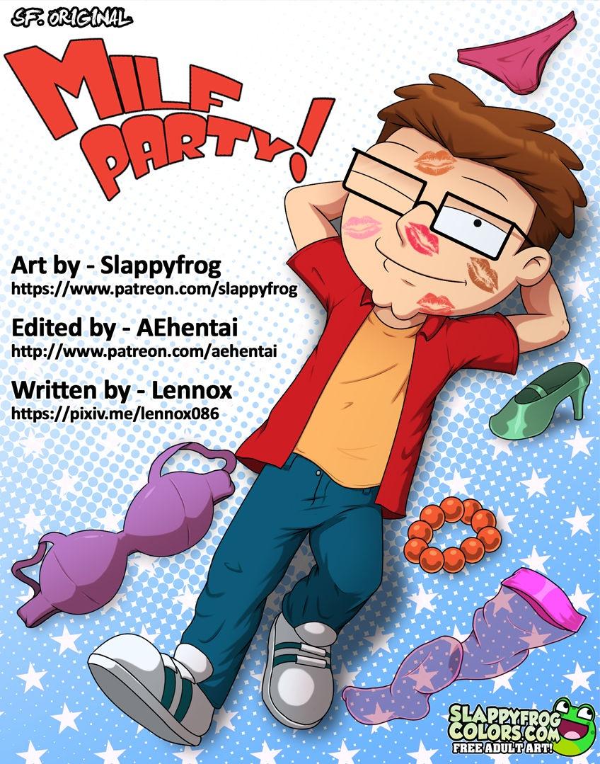 Milf Party!- Slappyfrog porn comics 8 muses