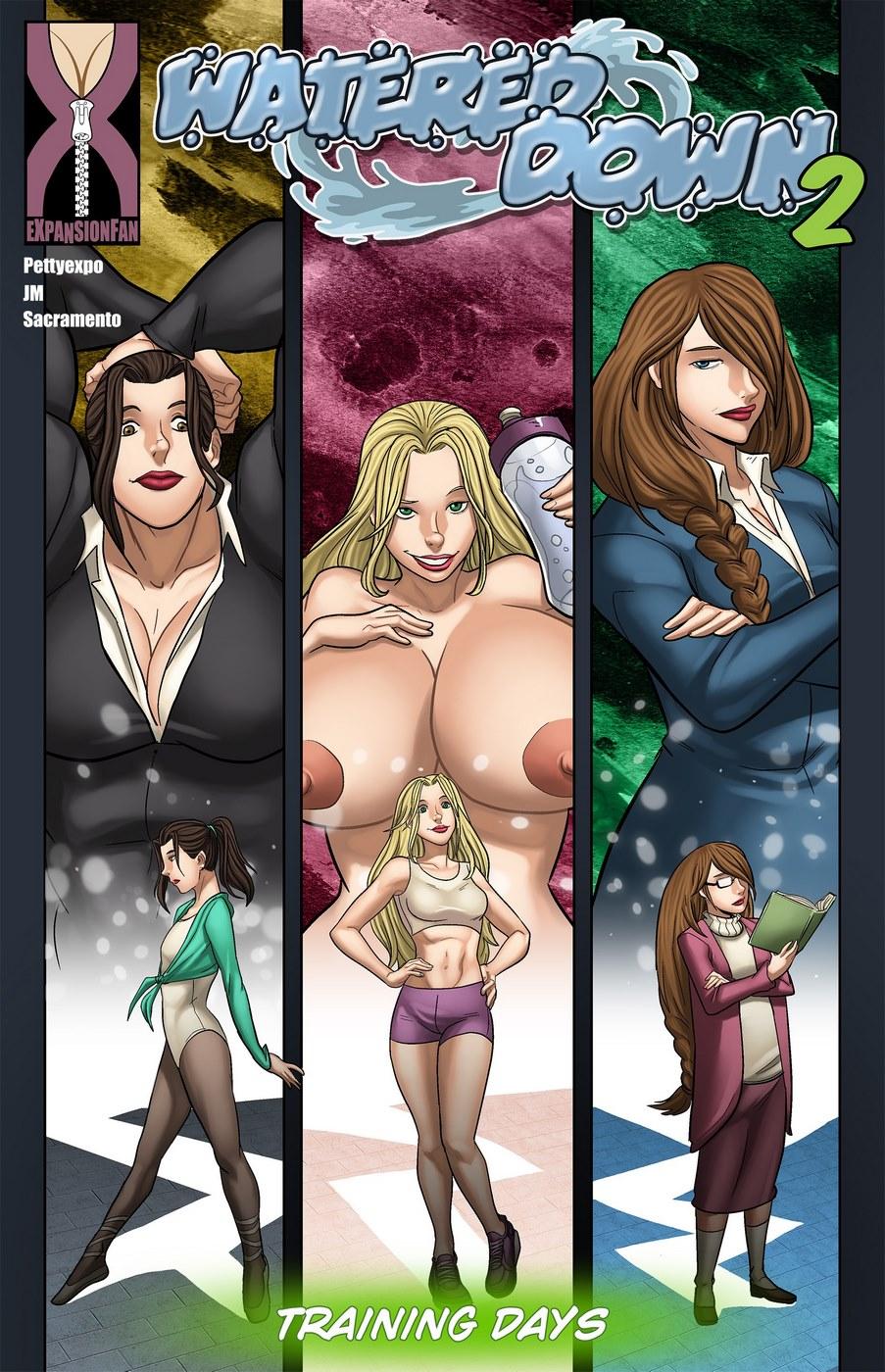 Milftoon comics 8 muses