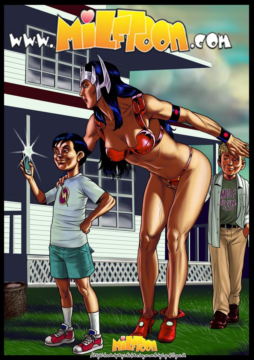 Milftoon- Big Barba porn comics 8 muses