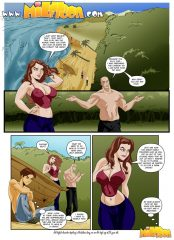 Milftoon- Stranded porn comics 8 muses