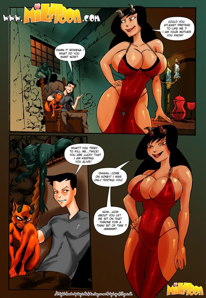 Milftoon- Superfucktural porn comics 8 muses