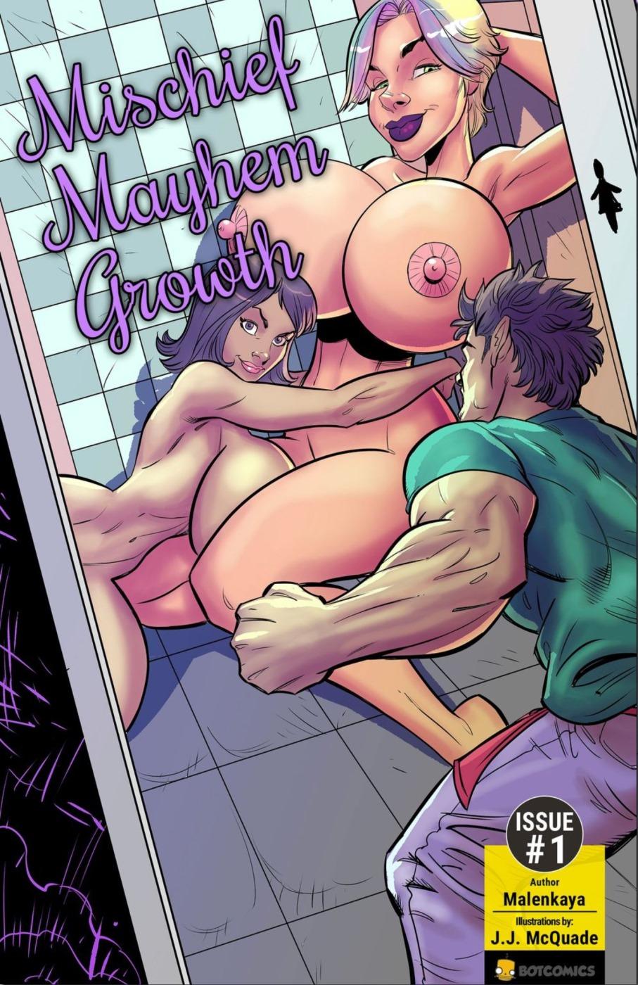 Mischief, Mayhem, Growth porn comics 8 muses