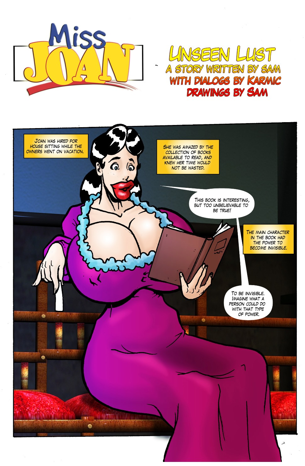 Miss Joan- Unseen Lust porn comics 8 muses
