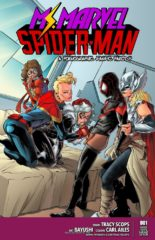 Miss Marvel Spider-Man- Tracy Scops porn comics 8 muses