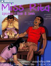 Miss Rita 7 – Hide and Seek porn comics 8 muses