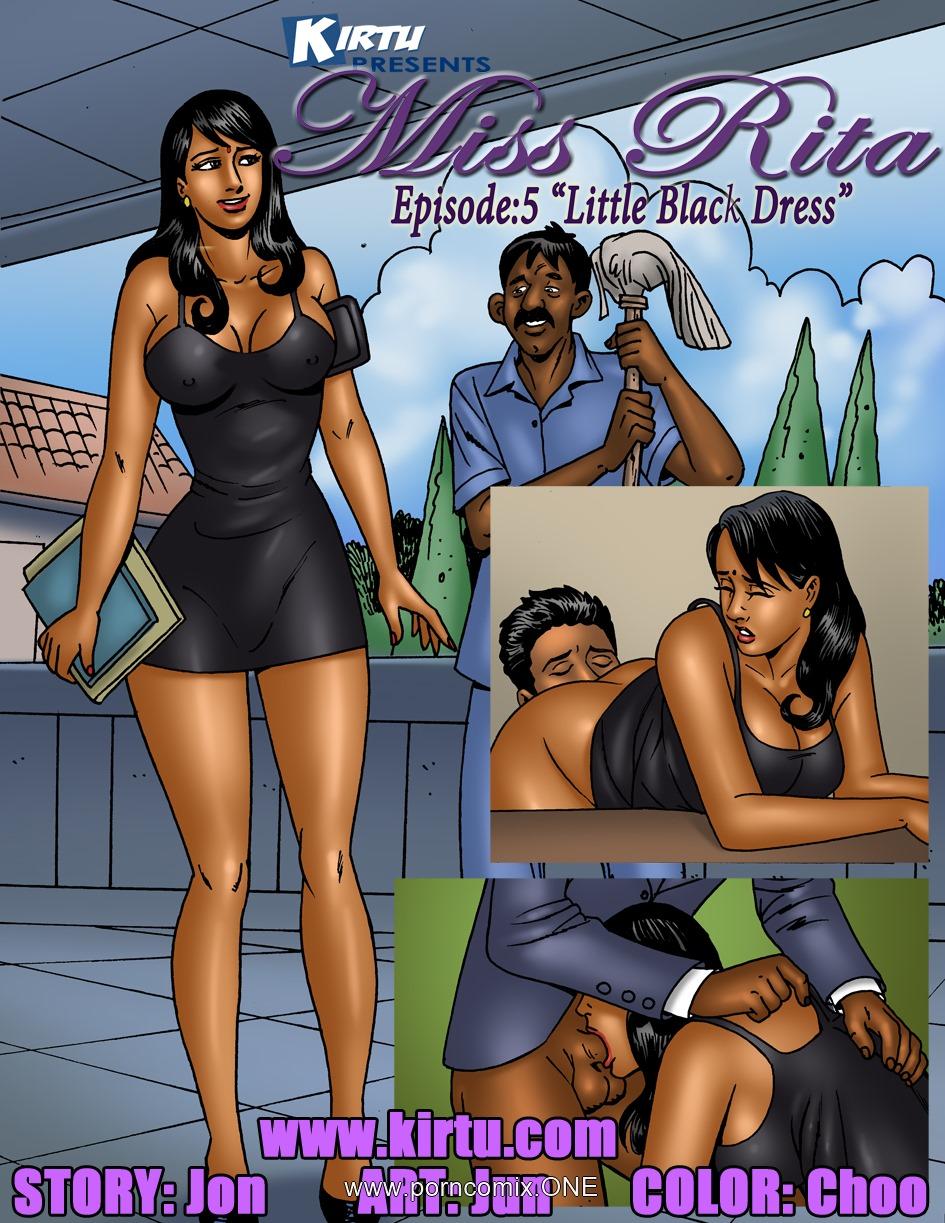 Miss Rita Episode 5- Little Black Dress porn comics 8 muses