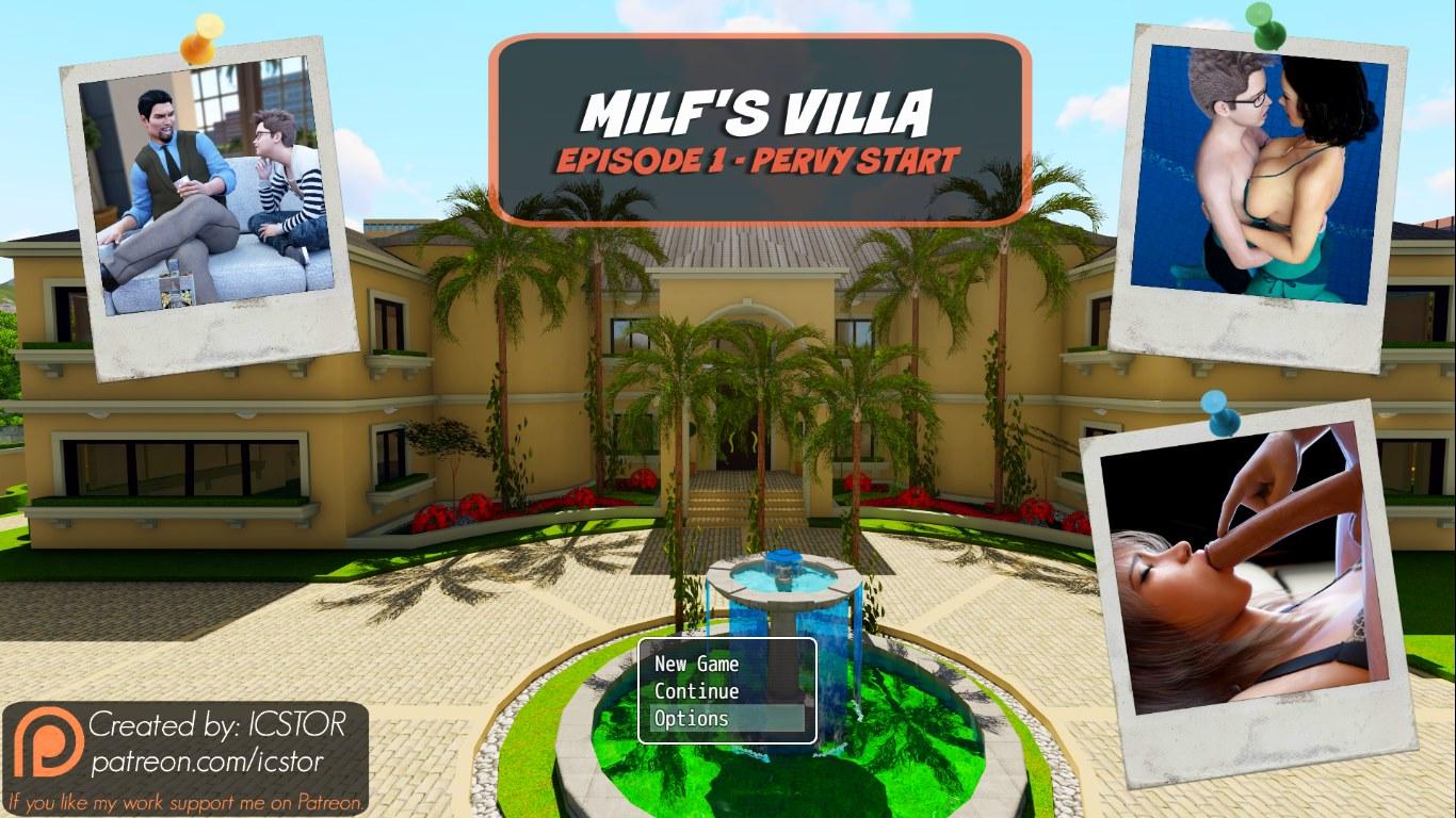 Mom Son Icstor – Milf's Villa – Denise image 1
