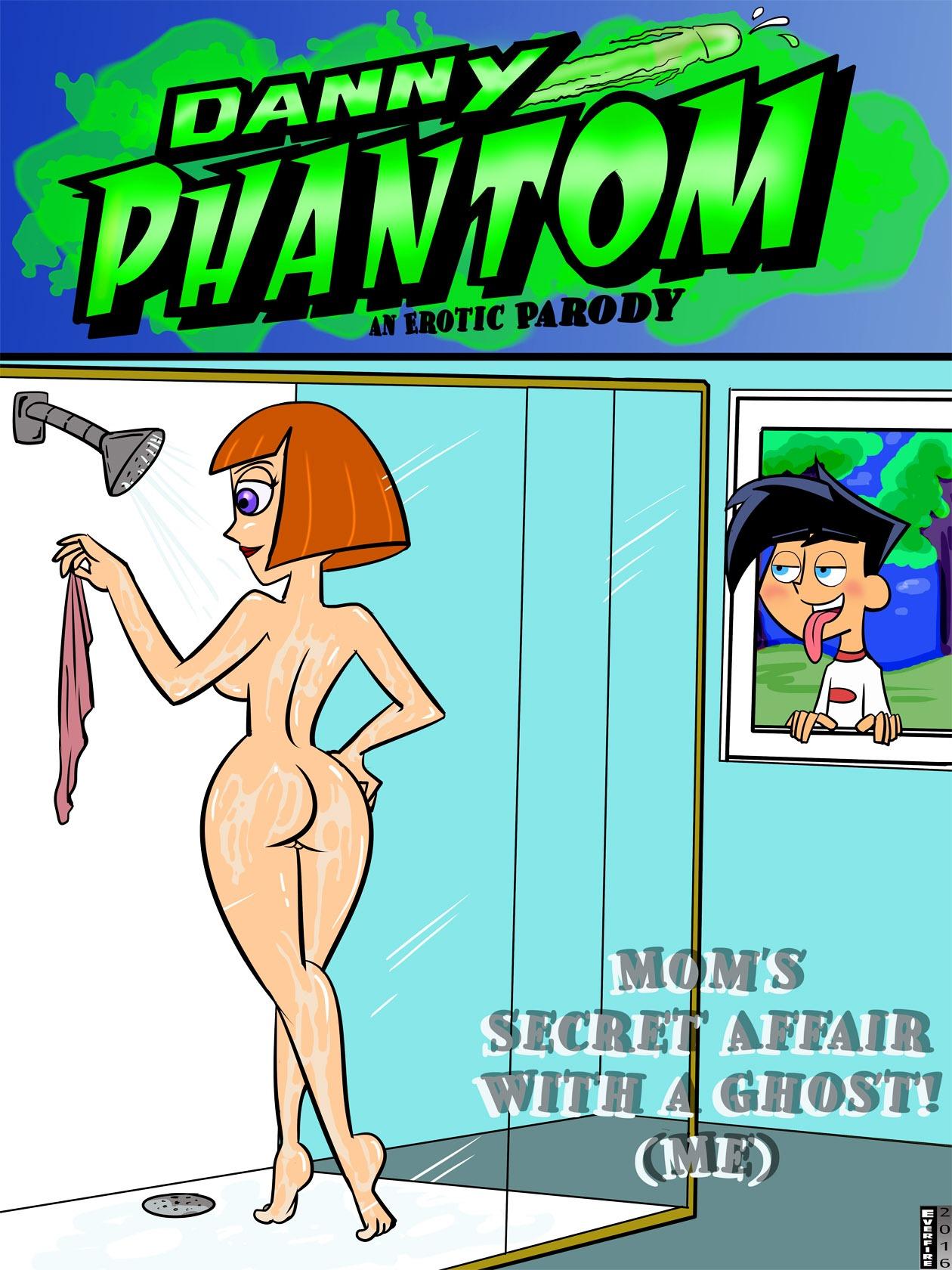 Mom's Secret Affair- Danny Phantom image 1