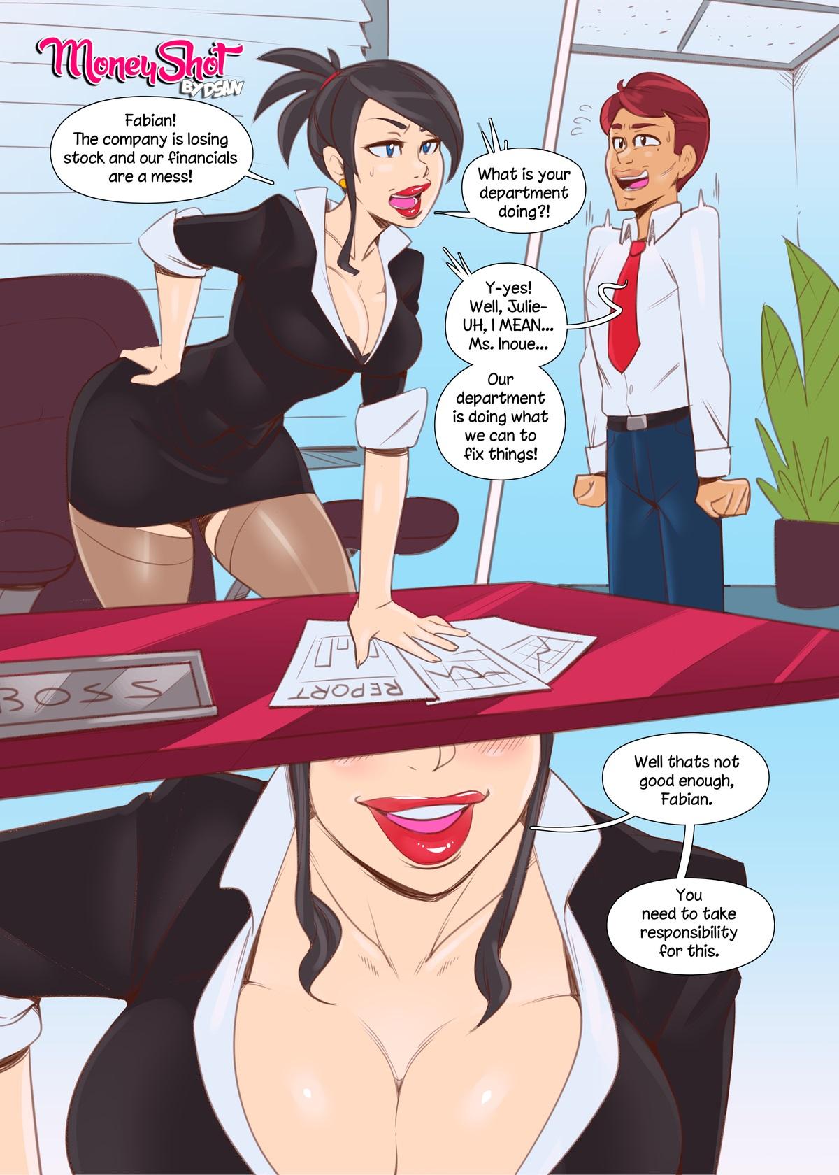 Moneyshot by Dsan porn comics 8 muses