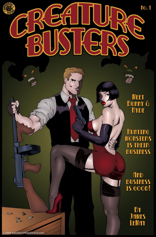 Creature Buster- James Lemay porn comics 8 muses