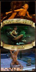 Monster Sex Trilogy – Blood Elf- 3DZen porn comics 8 muses
