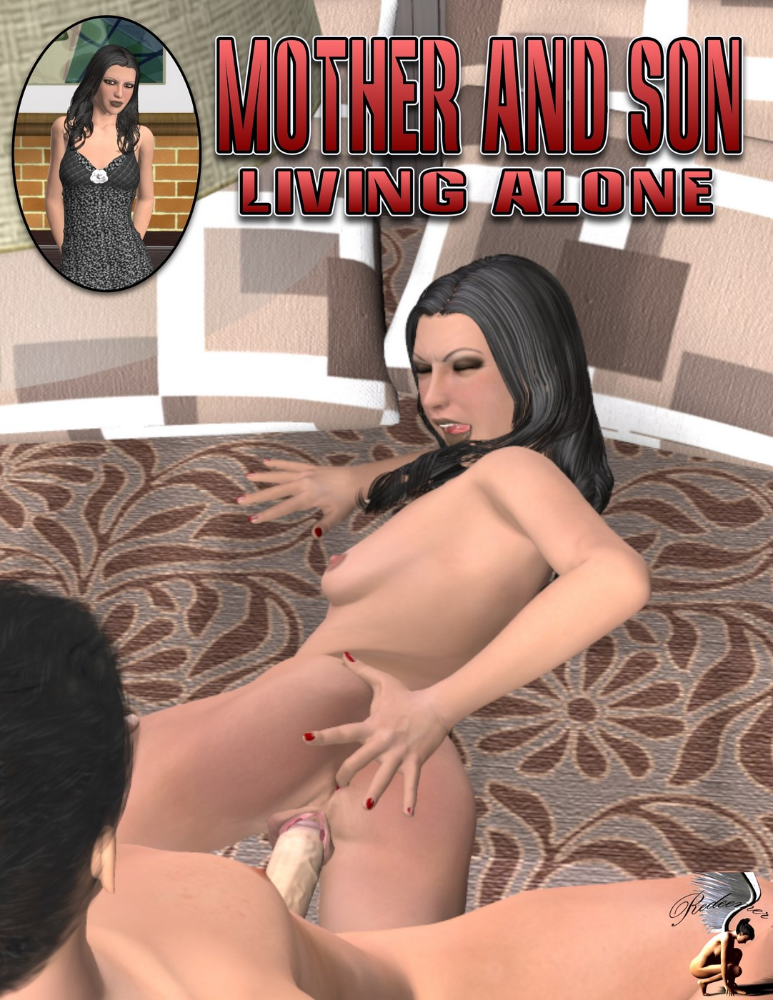 Mother and Son living alone- Redeemer porn comics 8 muses